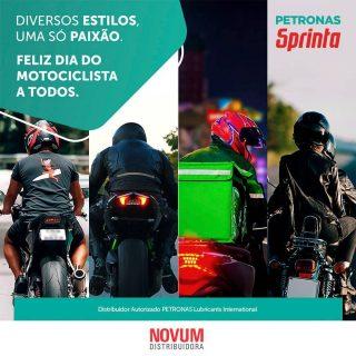 Hoje é dia de celebrar uma classe que batalha, vive com liberdade e tem uma rotina intensa, mas sem perder a paixão: parabéns a todos os motociclistas do Brasil! Estamos sempre juntos! #PETRONASSprinta #ConexãoMáxima #DiaDoMotociclista.