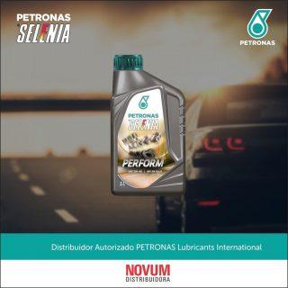 PETRONAS SELENIA PERFORM SN + 5W‑40  PETRONAS Selenia Perform SN+ é um lubrificante 100% sintético de alta performance, que proporciona uma perfeita lubrificação dos mais modernos motores movidos à gasolina, diesel, etanol, flex e GNV. PETRONAS Selenia Perfom SN+ foi feito para o seu carro, atendendo satisfatoriamente às especificações dos principais fabricantes de veículos.  -Reduz o atrito entre os componentes do motor -Proteção contra desgaste e corrosão -Estabilidade a variações térmicas -Excelente limpeza do motor