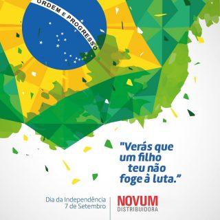 7 de setembro - Independência do Brasil  Data nacional que representa a proclamação de um país livre e soberano. Um dia para celebrar a independência do nosso país. Dia de celebrar nossas belezas e riquezas, nosso patrimônio, nossa cultura e miscigenação. Bom momento para reafirmar um grande e genuíno sentimento: o orgulho de ser brasileiro!